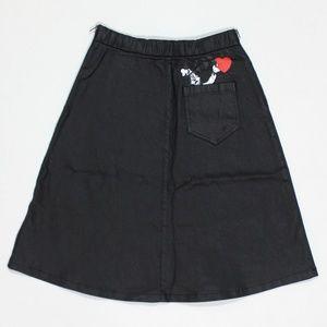 Jain Song x Disney Waxed Love Goofy Skirt
